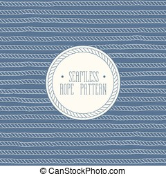 Rope Seamless Pattern