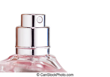 Perfume sprayer - Sprayer of transparent perfume bottle...