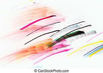 Abstract image of  light