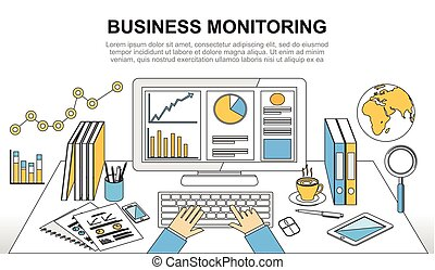 Business monitoring, business analytic or business growth...
