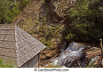 Watermills 9 - The watermills of Valea Rudariei, District...