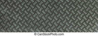 Brown metallic oxide rhombus shapes pattern - Dark brown...