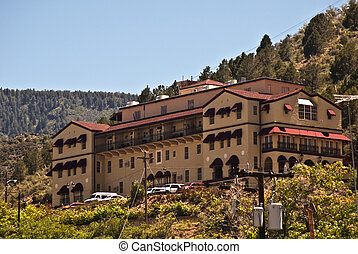 Old Hotel from Jerome, Arizona, a semi-ghost town