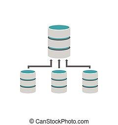 Backup database. Database management.