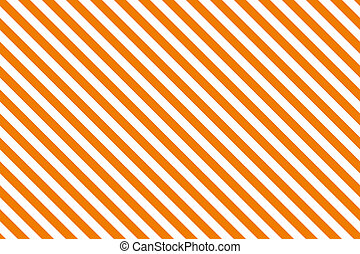 Orange stripes on white background.
