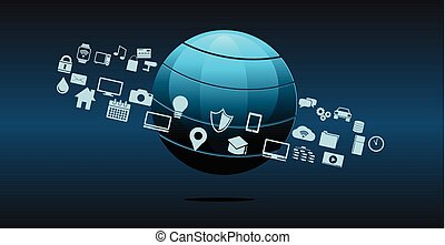 Information technology or technology innovation abstract...
