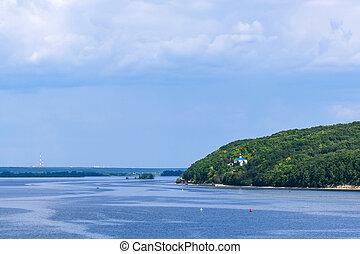 Panoramic view of Volga - Amazing panoramic view of Volga...