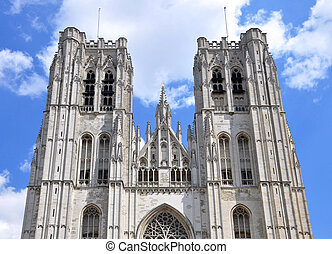 Saint Michaels church in Brussels Belgium
