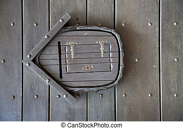 post mail abstract door curch wood lombardy italy azzate -...
