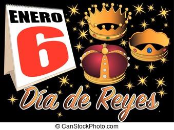 dia de reyes calendar