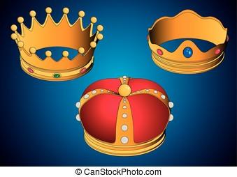 Coronas de los tres Reyes Magos - Las tres coronas de los...