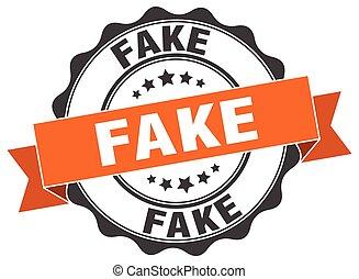 fake stamp. sign. seal