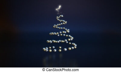 Christmas tree - 3D Animation