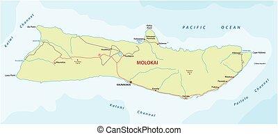 molokai road map