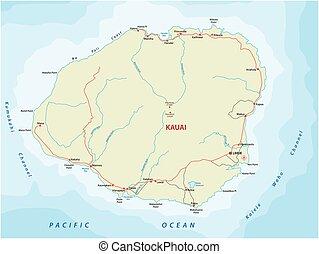 kauai road map