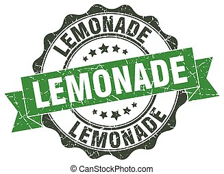 lemonade stamp. sign. seal