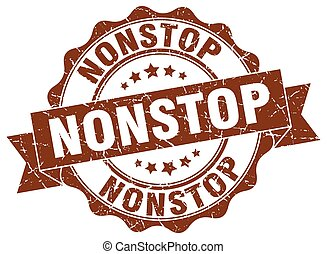 nonstop stamp. sign. seal