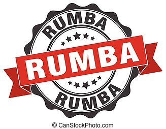 rumba stamp. sign. seal