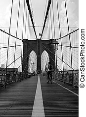 Brooklyn Bridge - The famous and historic Brooklyn Bridge...