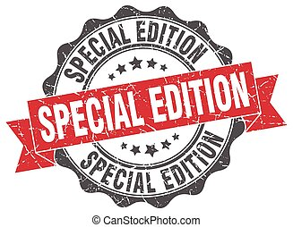 special edition stamp. sign. seal