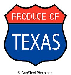 Produce Of Texas