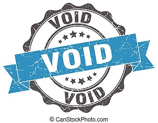 void stamp. sign. seal