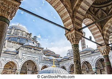 Beyazit Camii Mosque - A view of the beyazit camii mosque in...