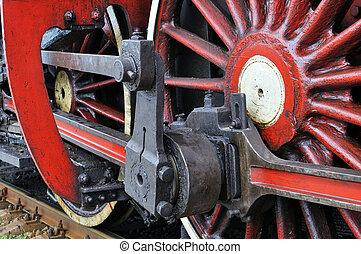 Activo, vapor, locomotora