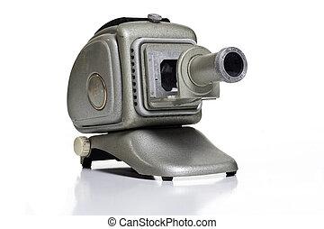 old slide projector