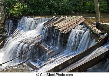 Waretfall 1 - The watermills of Valea Rudariei, District...