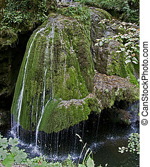 Waterfall 4 - The watermills of Valea Rudariei, District...