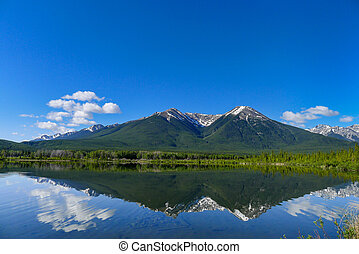 Vermilion Lake with reflection