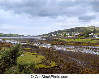 Landscape near Waterstein on the isle of Skye - Landscape...