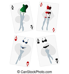 Fancy playing cards