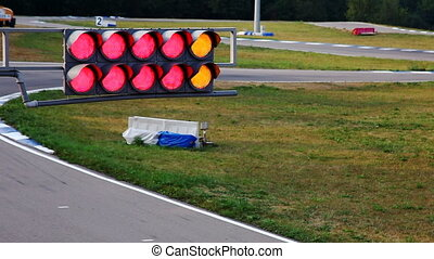Traffic light on carting edit cut - Traffic light on carting...