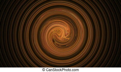Amber spiral pattern abstract motion background - Amber...