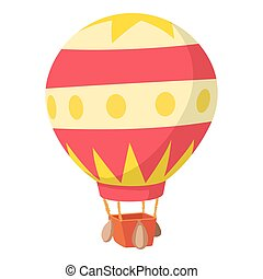 Baloon icon, cartoon style - Baloon icon. Cartoon...
