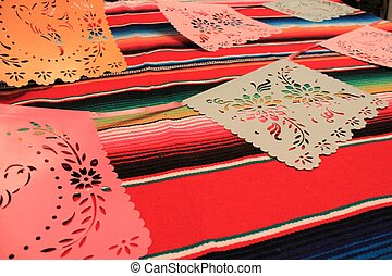 Mexico mexican poncho serape background fiesta cinco de mayo...