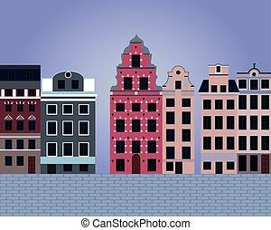 Stockholm vector illustration