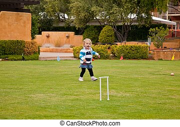 Bocce Field - Bocce is a ball sport belonging to the boules...