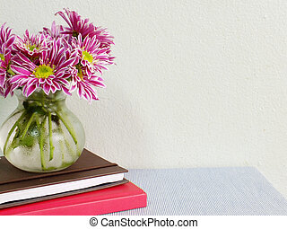 still life home office table with stationary and beautiful...