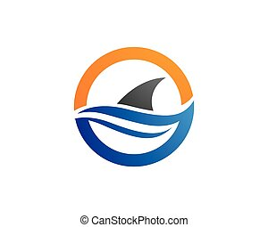 Shark Logo Template icon