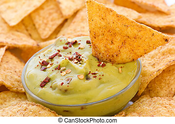 Nachos with Dip