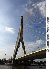 Rama VIII Bridge - The Rama VIII Bridge is a cable-stayed...
