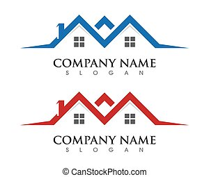Property Logo Template - Property and Construction Logo...
