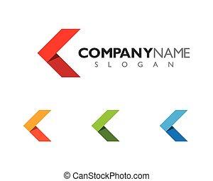 Arrows Logo Template icon