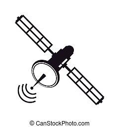 satellite antenna orbit world information