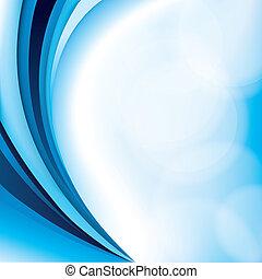 Blue background design - Smooth blue background illustration...