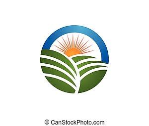 Agriculture Logo - Tree leaf vector logo design,...
