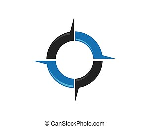 Compass Logo Template icon